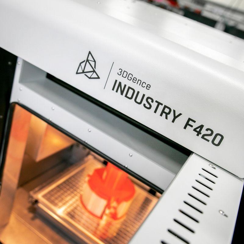 ampio volume F420 stampante 3d